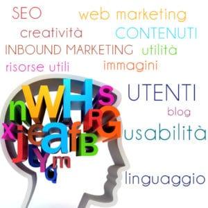 SEO, linguaggi, utenti, contenuti