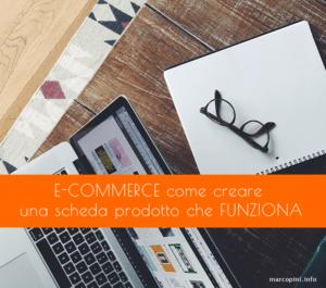 e-commerce, design, SEO e contenuti scheda articolo