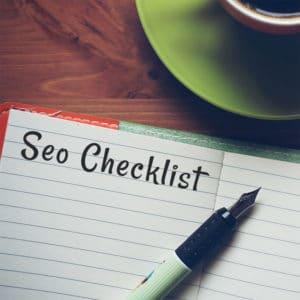 SEO checklist per il tuo sito internet