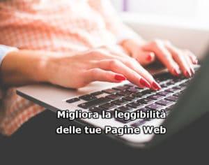 Migliora la leggibilità delle tue pagine web
