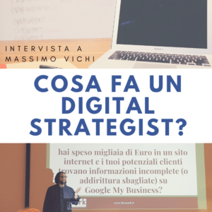 Che cosa fa un Digital Strategist?