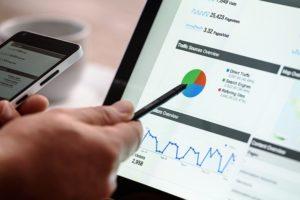 schermata traffico Google Analytics