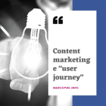 contenuti commerciali e user journey